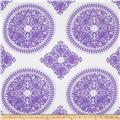 Ty Pennington Home Decor Sateen Fall 11 Medallion Lavender