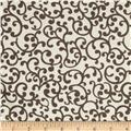 Nursery Rhyme Scroll Beige