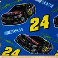 Jeff Gordon Fleece #24 Car Toss Blue