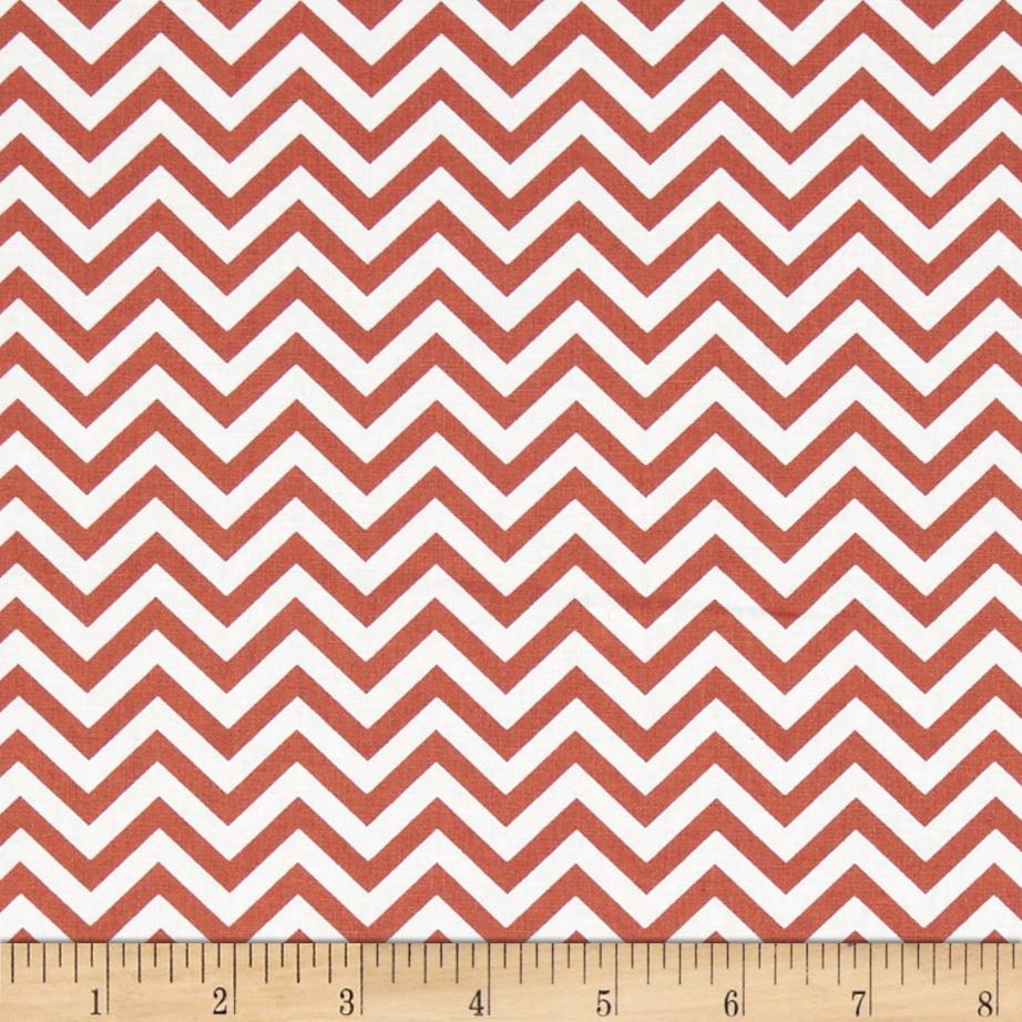 Ups & Downs Chevron Orange/White