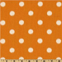Premier Prints Ikat Dots Gumdrop Orange/Natural