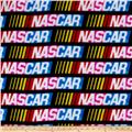 Fleece Nascar Allover Black