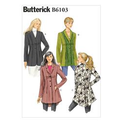 Butterick Misses' Jacket Pattern B6103 Size A50