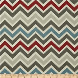 Premier Prints Zoom Zoom Natural/Pewter Fabric