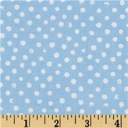 Confetti Dot Sky Fabric