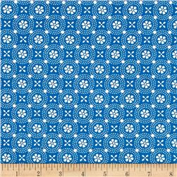 Maywood Studio Kimberbell Basics Dotted Circles Blue