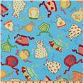 Kitchen Capers Aprons Blue