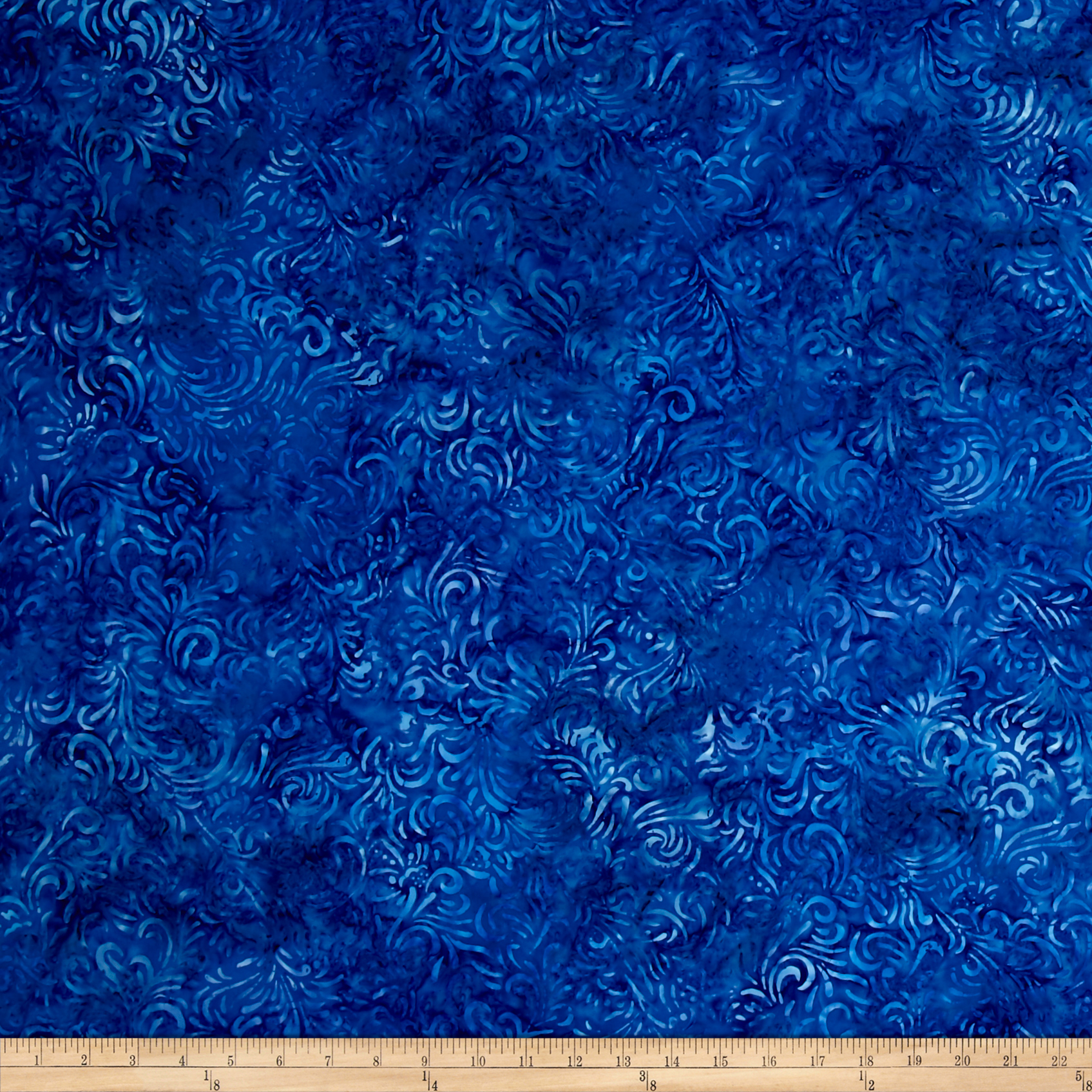 sku 459282 wilmington batiks flourish dusty blue fabric by the yard from. Black Bedroom Furniture Sets. Home Design Ideas