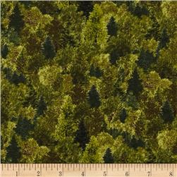 Whitetail Ridge Packed Trees Dark Green