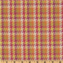 HGTV Home Checkered Past Woven Jacquard Berry