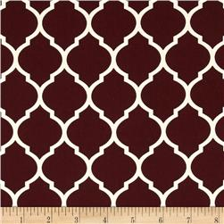 Heirloom Unbleached Lattice Bordeaux