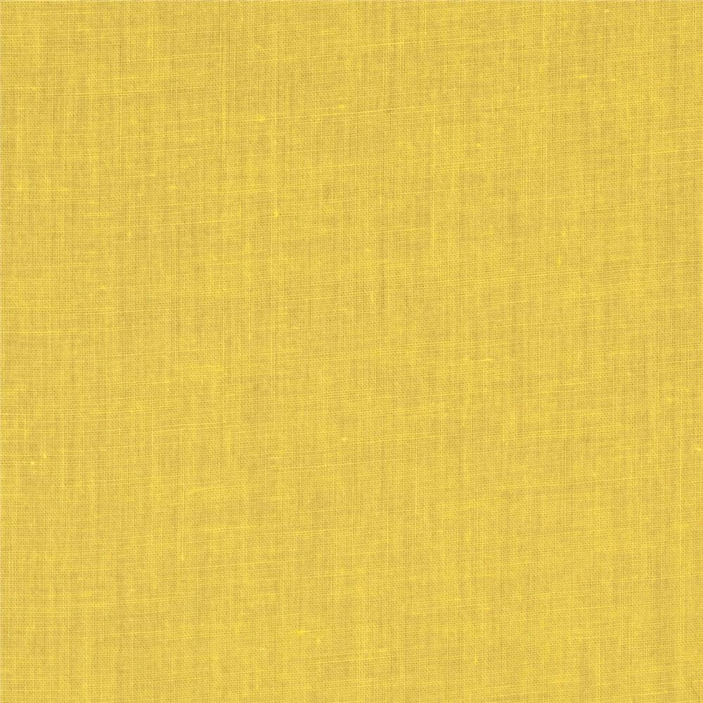 Telio cotton voile yellow discount designer fabric for Fabric cloth material
