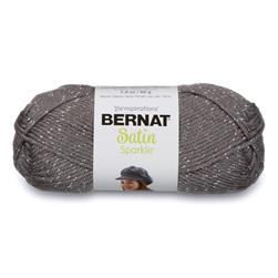 Bernat Satin Sparkle Yarn Platinum