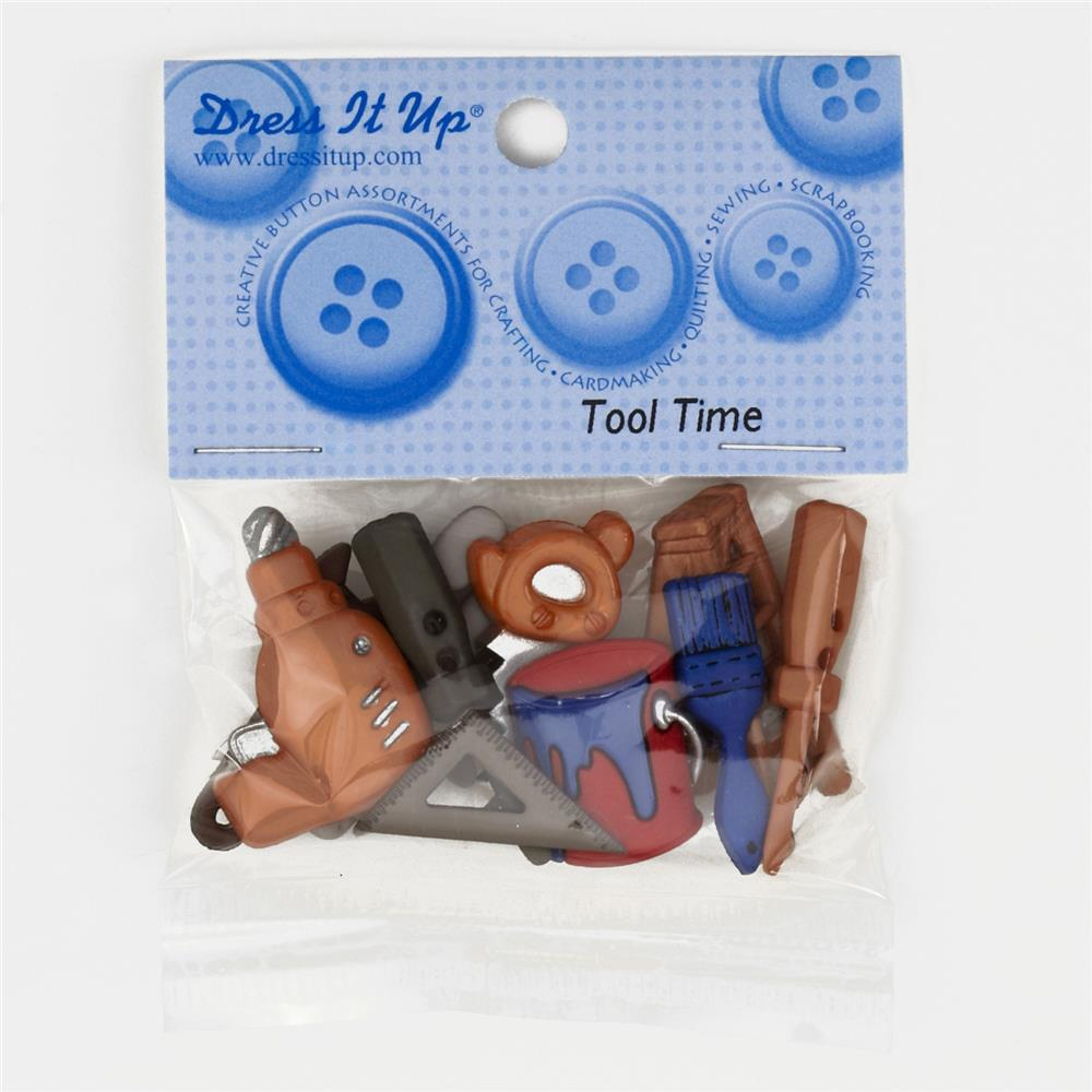 Dress It Up Embellishment Buttons  Tool Time