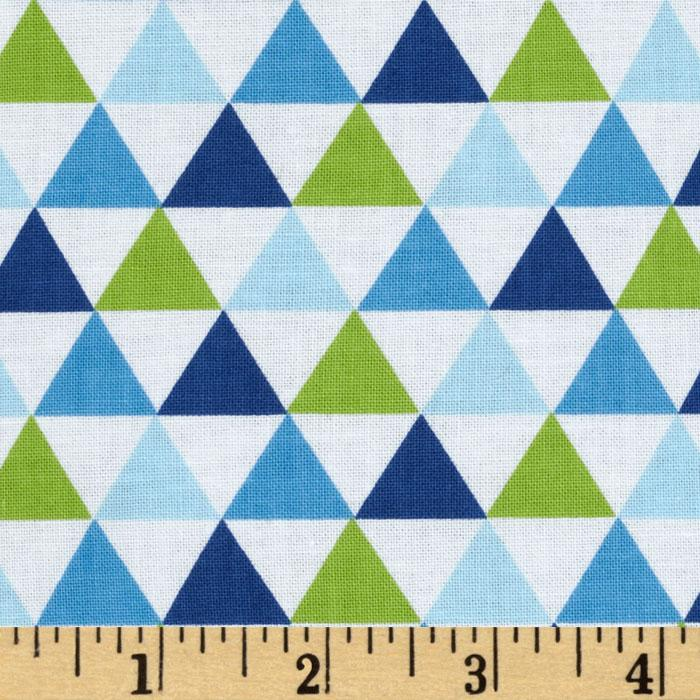 Remix Triangles Royal Blue