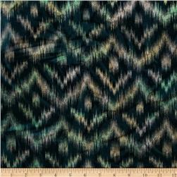 Hudson Bay Ikat Shirting Chevron Blue