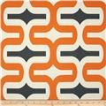 Premier Prints Embrace Macon Apache Orange