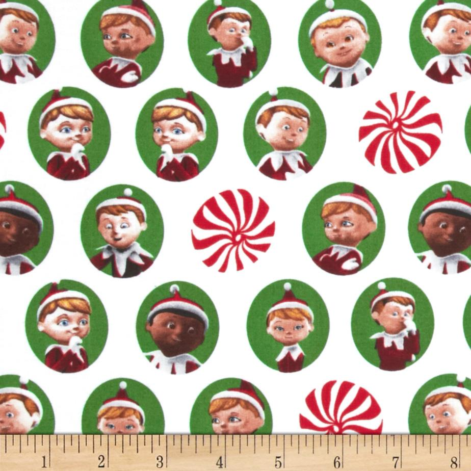 Elf on the Shelf Character Heads White/Green