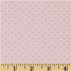 Cotton Tale Pin Dot Pink