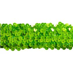 Team Spirit #68 Sequin Trim Lime