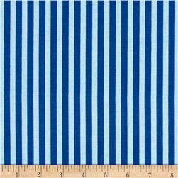 Riley Blake Sharktown Stripe Blue