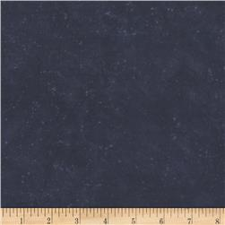 Purrfect Christmas Flannel Texture Dark Blue