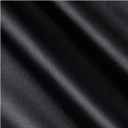 Barcelona Spandex Stretch Satin Black Fabric