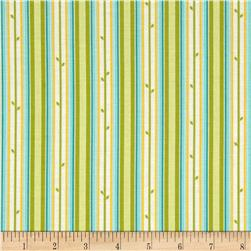 Moda Chantilly Stem Stripe Field/Brook