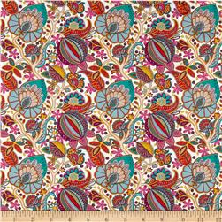 Liberty of London Tana Lawn Citronella Vine Teal/Multi
