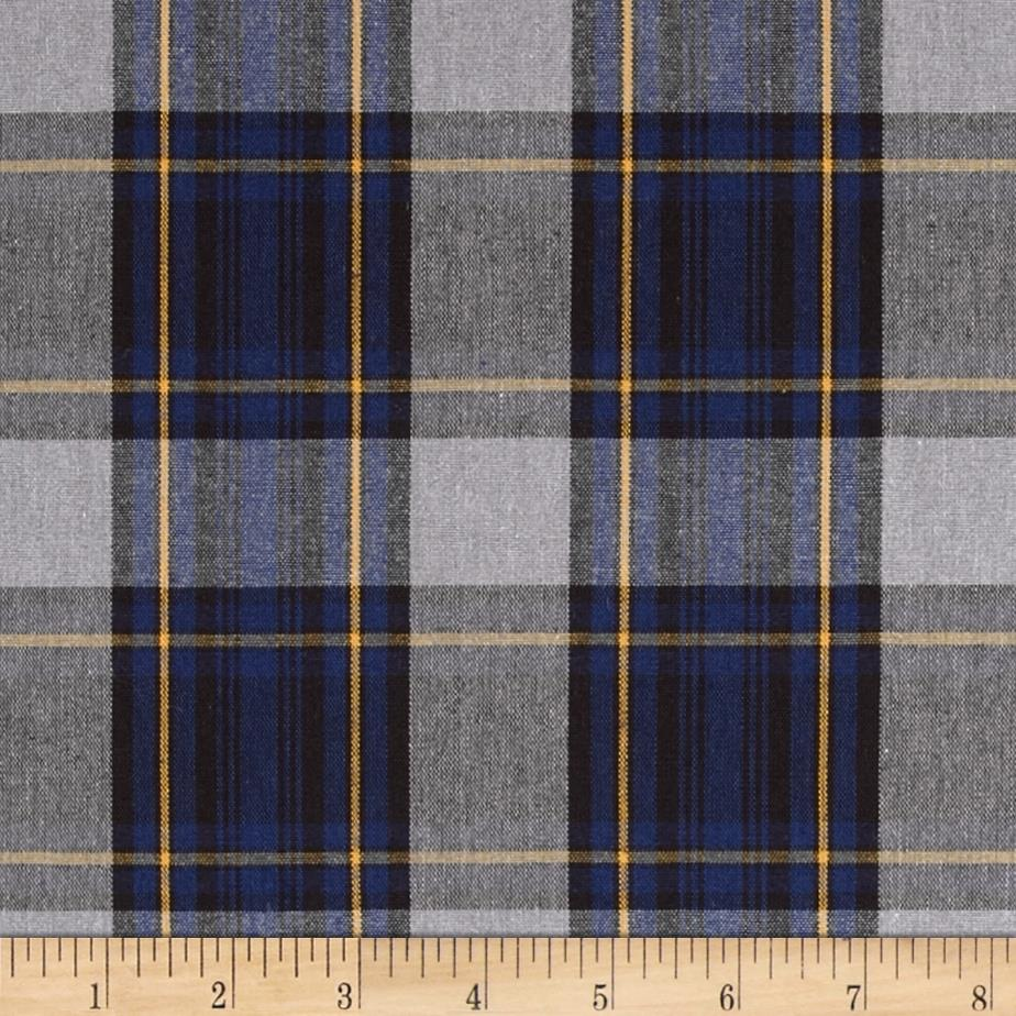 Uniform Plaid Navy/Grey