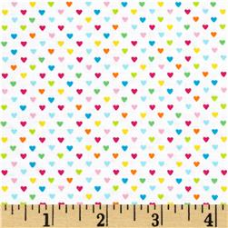 Timeless Treasures Field Day Mini Hearts Multi