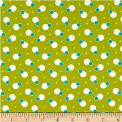 Moda Simply Colorful II Dot to Dot Chartreuse