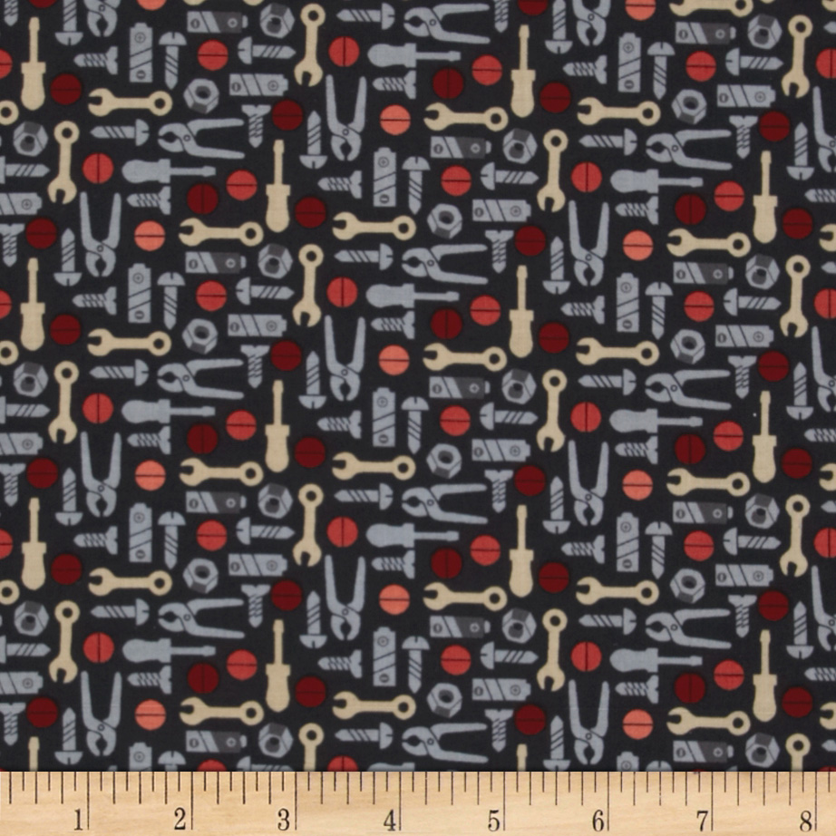 Mr. Roboto Tools Black Fabric