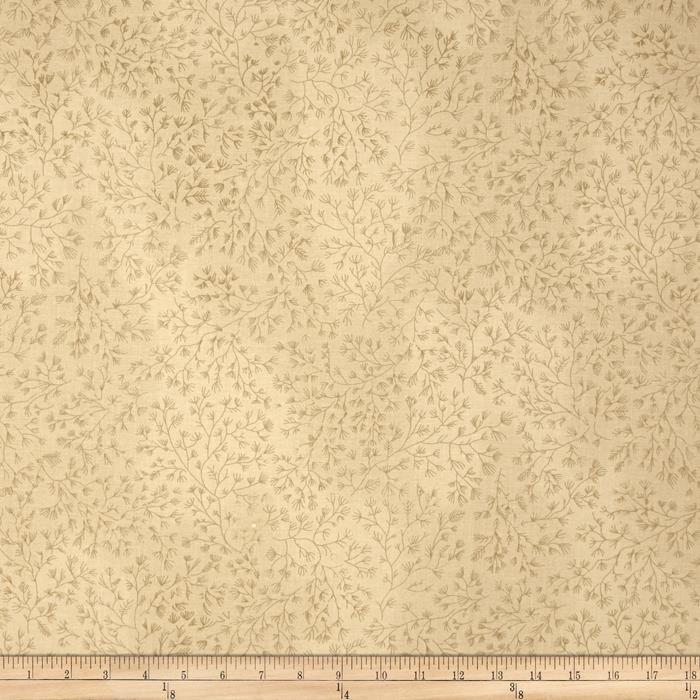 110 In. Wide Quilt Back Cream/Tan