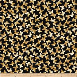 Kanvas New Traditions Metallic Butter Flutter Black