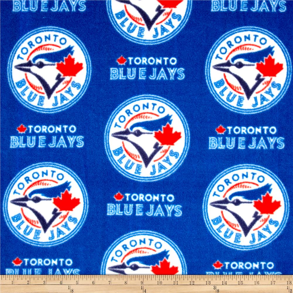 MLB Toronto Blue Jays Fleece Fabric