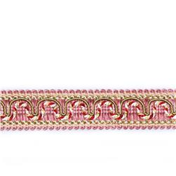"Fabricut 1.25"" Resort Trim Watermelon"