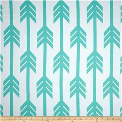 RCA Arrows Blackout Drapery Fabric Jade
