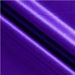 Kaufman Radiance Cotton/Silk Satin Grape Fabric