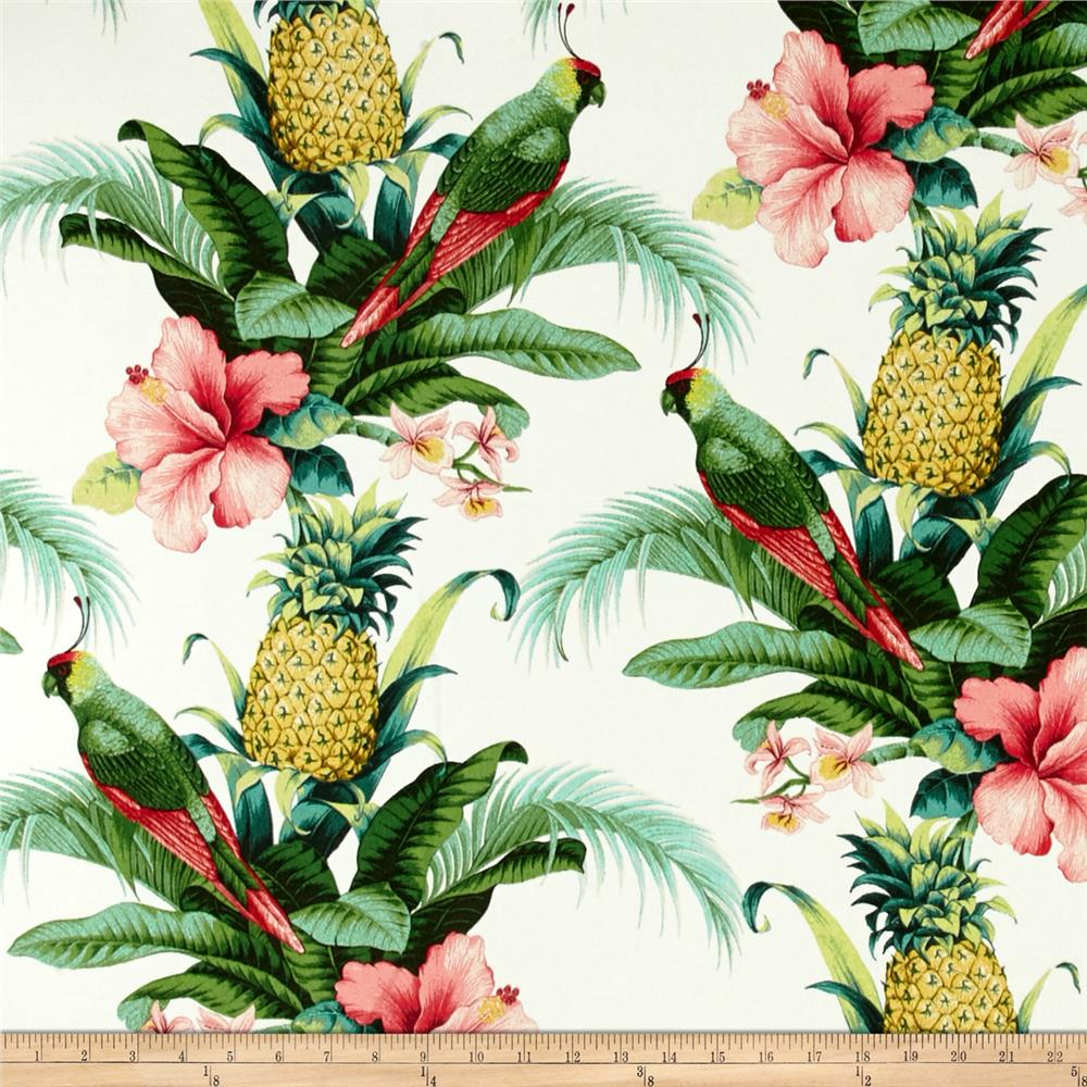 Discount outdoor fabric by the yard - Tommy Bahama Indoor Outdoor Beach Bounty Lush Green