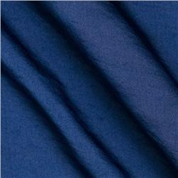 Soft Crush Crepe De Chine Dark Blue