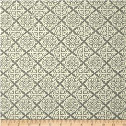 Moda El Gallo Damask Tile Charcoal