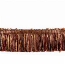 "Fabricut 2.125"" Banni Brush Fringe Coffee"