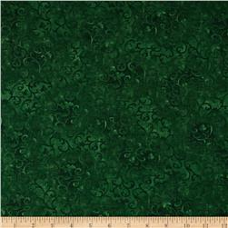 Essentials Scroll Very Dark Green Fabric