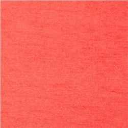Cotton/Lycra Stretch Jersey Coral Orange