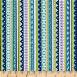 Silk Road Decorative Stripe Multi
