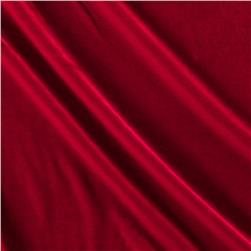 Stretch Velvet Red