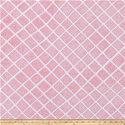 Sugar and Spice Lattice Pink