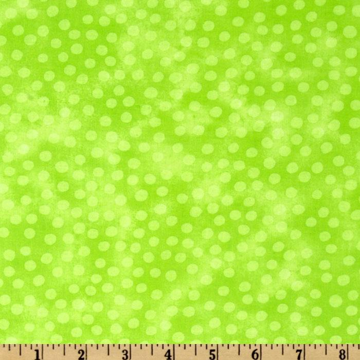 Moda Marble Dots (#3405-106) Lime