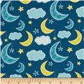 Dream A Little Dream Night Sky Navy